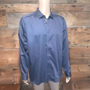 Ted Baker Mens Dress Button Down Shirt SZ.6